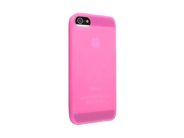 Insten Light Pink 1X Silicone Case For iPhone 5 / 5S 738999