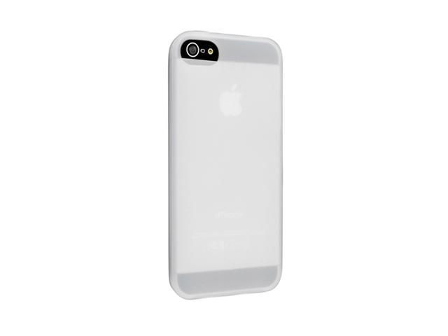 Insten Clear 1X Silicone Case For iPhone 5 739003