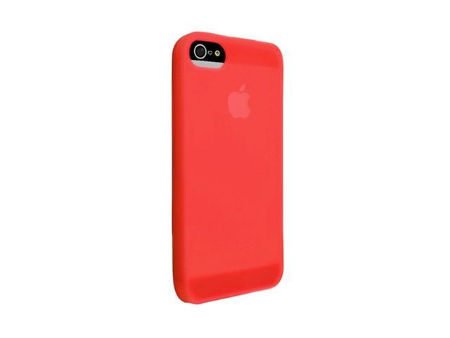 Insten Red 1X Silicone Case For iPhone 5 739006