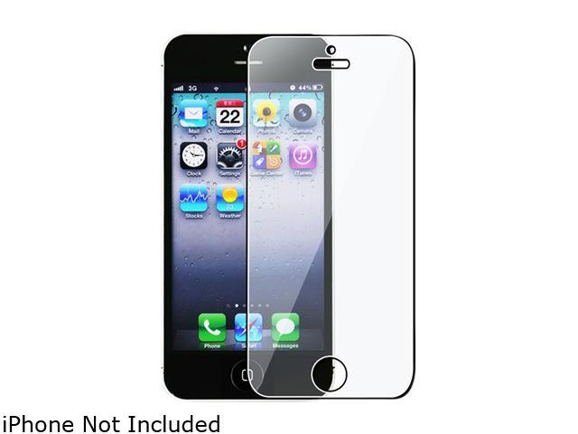 Insten Reusable Screen Protector Compatible with Apple iPhone 5 / 5S