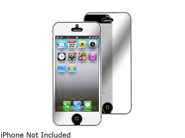 screen mirroring iphone 5 insten 1x mirror screen protector for iphone 5 739010 16066