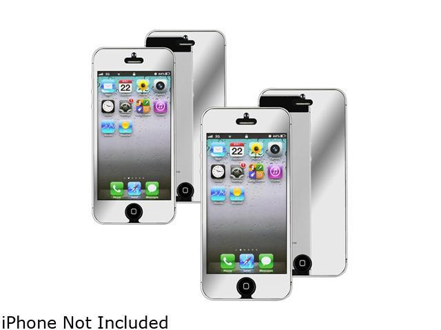 Insten 1X 2-LCD Mirror Screen Protector For iPhone 5 / 5S 739011