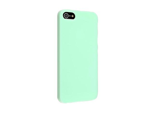 Insten Mint Green Ice Cream 1X Snap-on Case For iPhone 5 / 5S 739015