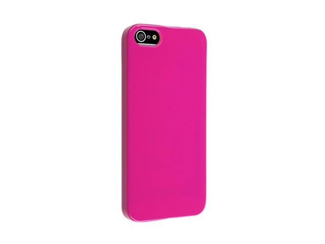 Insten Hot Pink Ice Cream 1X Snap-on Case For iPhone 5 / 5S 739021