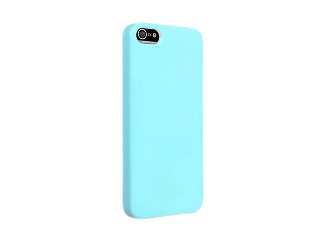 Insten Blue Ice Cream 1X Snap-on Case For iPhone 5 / 5S 739022