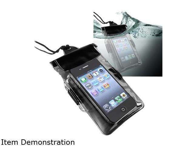 Insten Black Waterproof Bag Case w/ Armband for the New Apple iPhone 5 772037