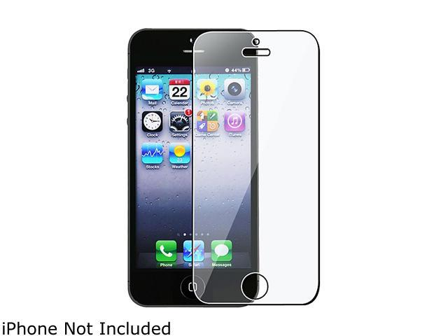 Insten 2 packs of Reusable Screen Protectors compatible with Apple iPhone 5 / 5S
