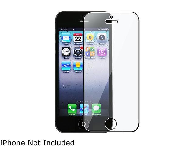 Insten 3 packs of Reusable Screen Protectors compatible with Apple iPhone 5 / 5S