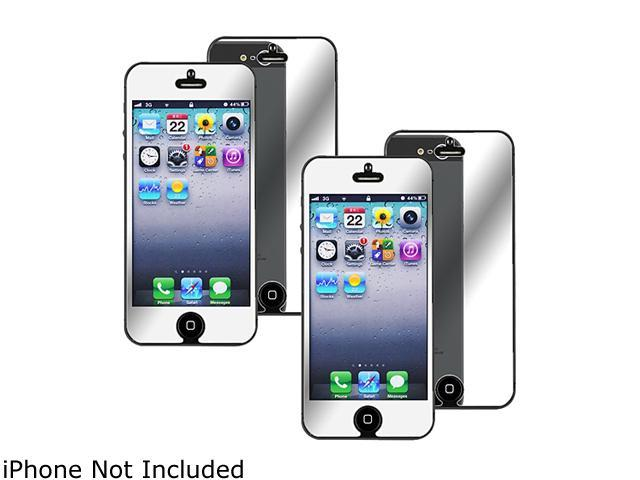 Insten 5 packs Mirror Screen Protectors - [2pcs-set] compatible with Apple iPhone 5 / 5S