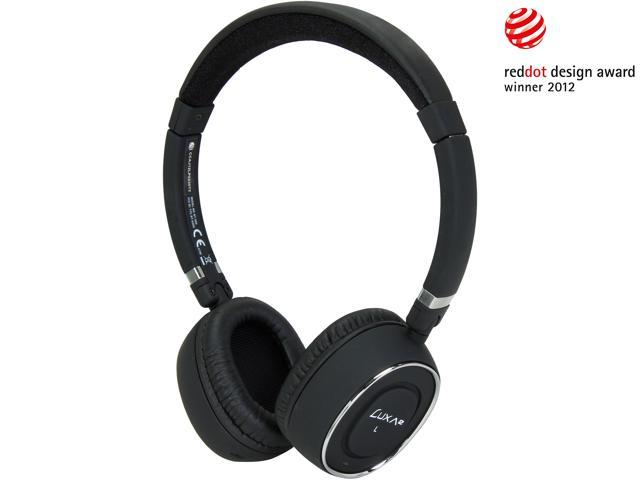 LUXA2 Black LHA0049-A BT-X3 Bluetooth Stereo Headphones
