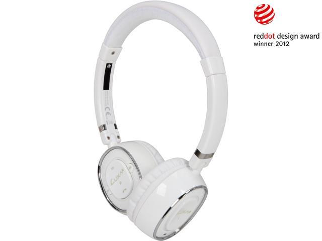 LUXA2 White LHA0049-B BT-X3 Bluetooth Stereo Headphones