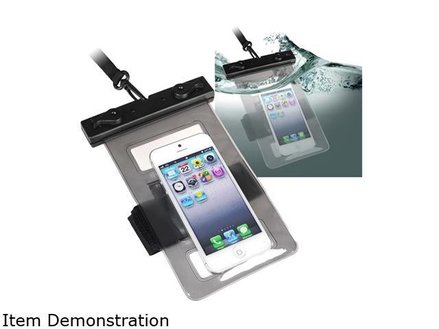 Insten Black Universal Waterproof Bag for Cell Phone/ PDA with Armband 811668