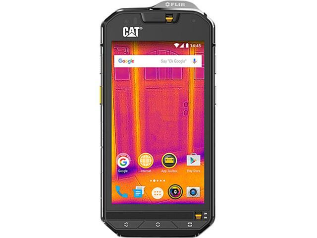 CAT S60 Black Unlocked Cell phone, Single SIM, US band, US Charger
