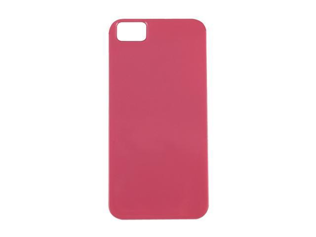 The Joy Factory Madrid Rose Pink Solid Ultra Slim PC Case w/ Screen Protector for iPhone 5 CSD131