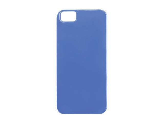 The Joy Factory Madrid Vintage Blue Solid Ultra Slim PC Case w/ Screen Protector for iPhone 5 CSD132