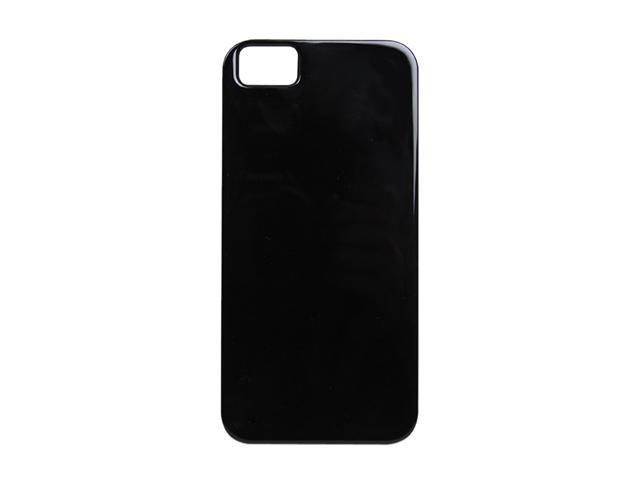 The Joy Factory Madrid Jet Black Solid Ultra Slim PC Case w/ Screen Protector for iPhone 5 CSD134