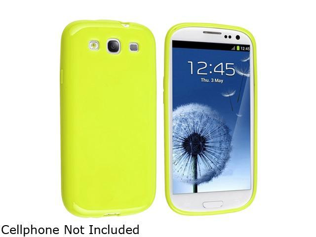 Insten Light Green Jelly TPU Rubber Skin Case For Samsung Galaxy S3 682841