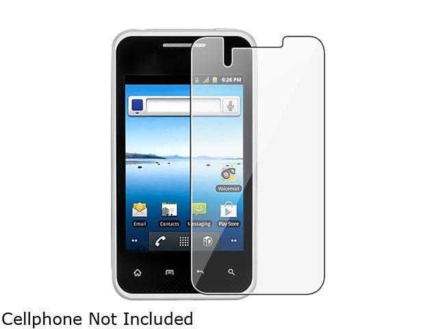 Insten 3-Pack Reusable Screen Protector for LG Optimus Elite LS696 678342