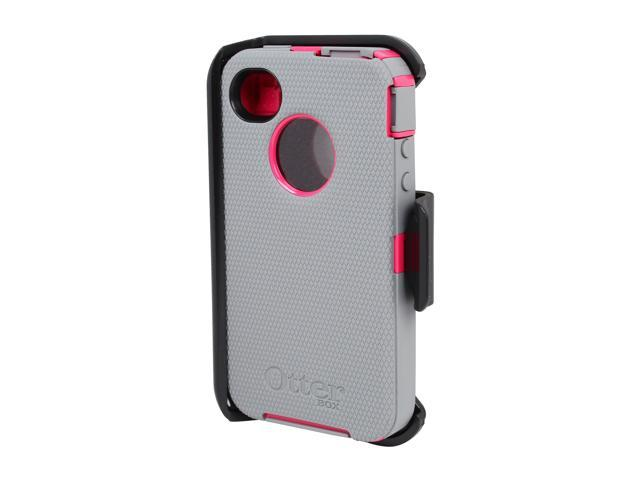 OtterBox Defender Peony Pink/Gunmetal Grey Case For iPhone 4/4S 77-18748