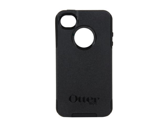OtterBox Commuter Black Solid Case for iPhone 4/4S 77-18548