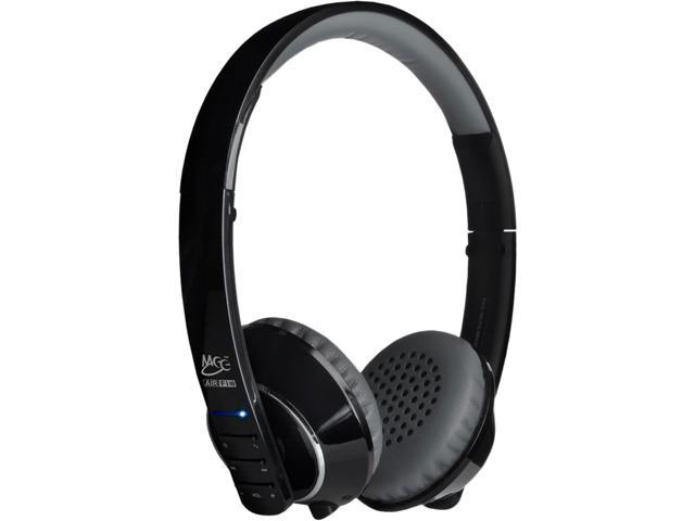 MEElectronics Air-Fi AF32 Black/Gray Stereo Bluetooth Headset w/ Hidden Microphone