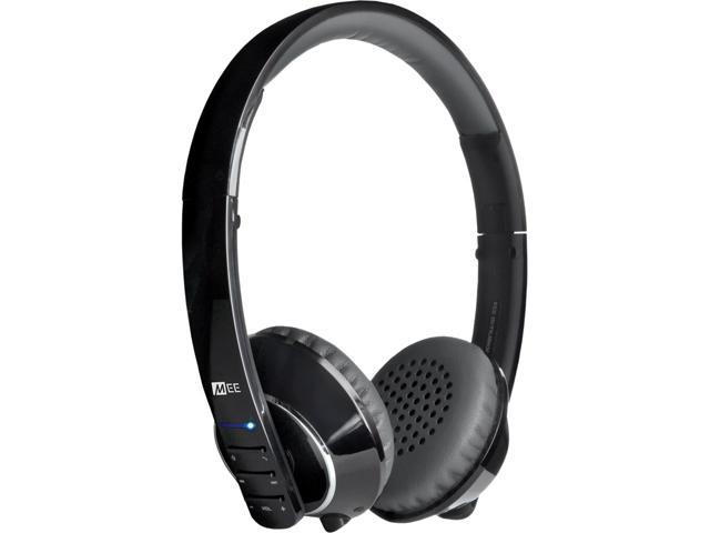 Mee audio Black/Grey Air-Fi AF32 3.5mm Connector Stereo Bluetooth Headset w/ Hidden Microphone