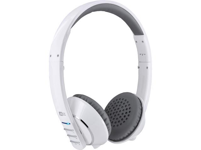 Mee audio Runaway 4.0 AF32 3.5mm Connector Stereo Bluetooth Headset w/ Hidden Microphone (White)