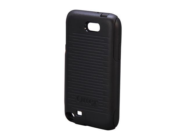 OtterBox Commuter Black Solid Case For Samsung Galaxy Note 2 77-24000