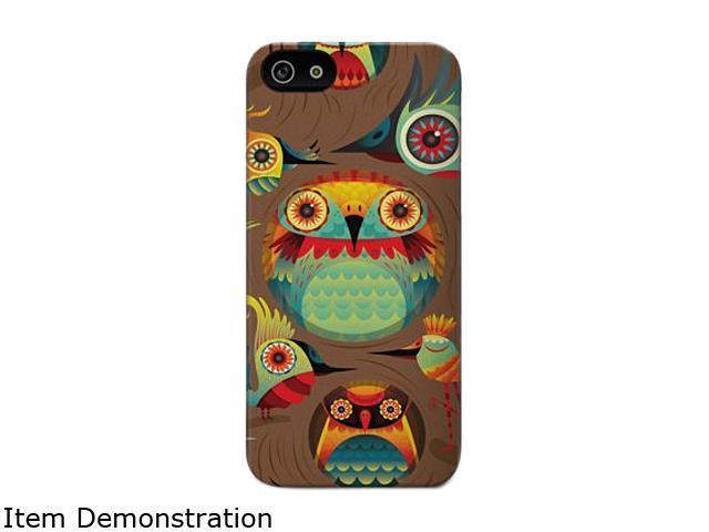 Cygnett ICON - Haven Brown Noctua Designer case for iPhone 5 CYO981CPICO