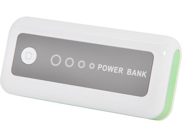 Syba 4400 mAh Mobile Rechargeable Power Bank with Flashlight CL-CHG20147