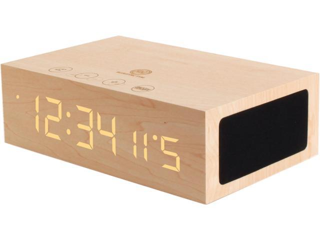 GOgroove BlueSYNC TYM Wireless Bluetooth Speaker Clock Kit with Alarm Functions and LED Display -  Works With Smartphones , Tablets , MP3 Players and More