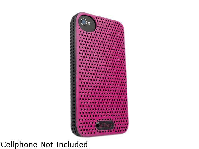 Zagg Black/Pink iFrogz Apple iPhone 4/4S Breeze IP4BRZ-BLK/PNK