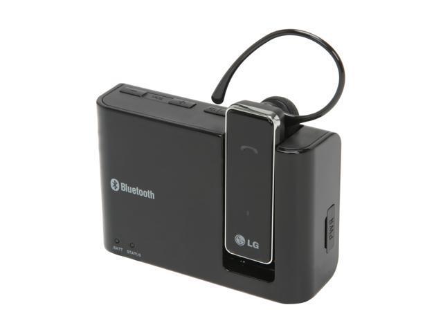 LG HBM-800 Bluetooth Headset, Speaker & Charger 3-in-1 Car Kit