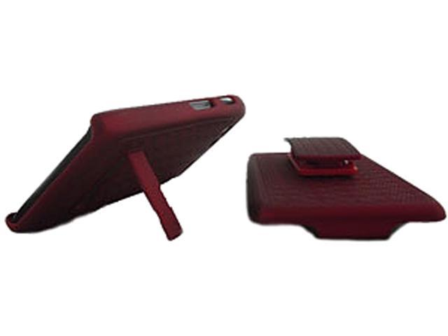 Aftermarket Red Shield Holster Combo For Motorola Razor Maxx MOTDRDMXSHCRD