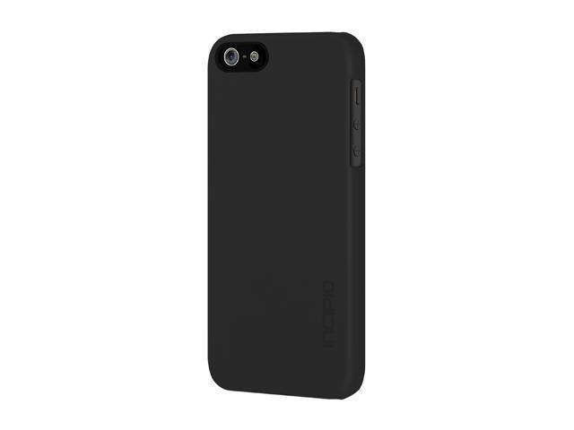 Incipio feather Obsidian Black Solid Ultra Light Hard Shell Case for iPhone 5 / 5S IPH-805