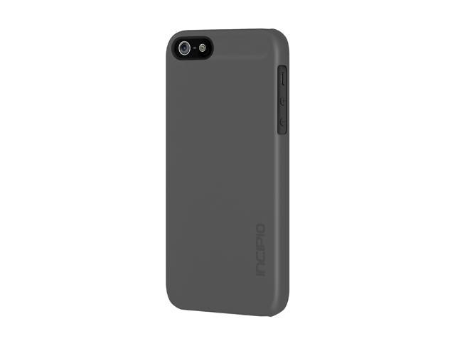 Incipio feather Charcoal Gray Solid Ultra Light Hard Shell Case for iPhone 5 / 5S IPH-809
