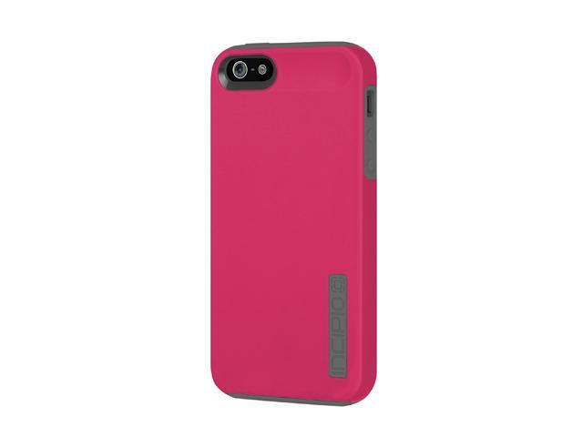 Incipio SILICRYLIC DualPro Cherry Blossom Pink / Charcoal Gray Solid Hard Shell Case w/ Silicone Core for iPhone 5 / 5S IPH-816
