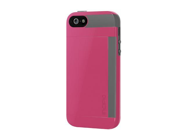 Incipio IPH-855 Credit Card Hard Shell Case w/ Silicone Core for iPhone 5 / 5S