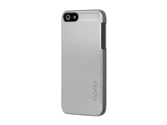 Incipio feather SHINE Titanium Silver Ultralight Hard Shell Case For iPhone 5 / 5S IPH-870