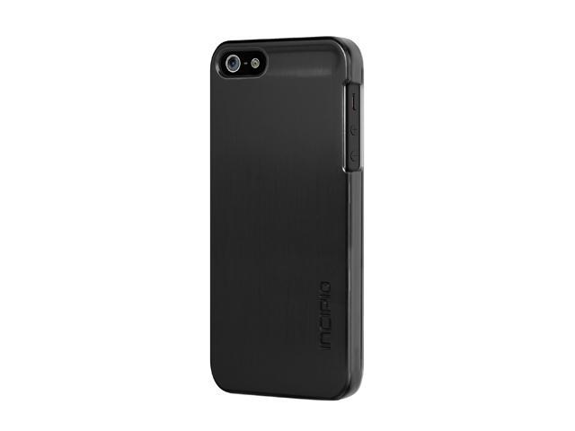 Incipio feather SHINE Obsidian Black Ultralight Hard Shell Case For iPhone 5 / 5S IPH-871