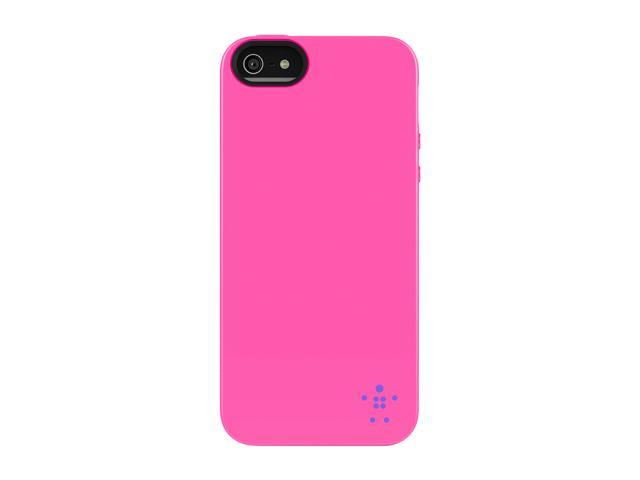 BELKIN Grip Neon Glo Day Glo/Volta Case for iPhone 5 / 5S F8W097ttC00