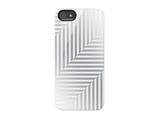 BELKIN Shield Pinstripe Silver Case for iPhone 5 / 5S F8W120ttC03