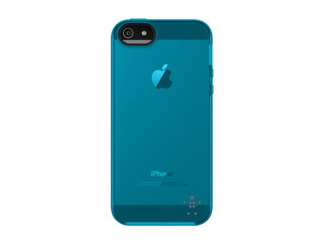 BELKIN Grip Candy Sheer Gravel/Reflection Solid Case for iPhone 5 F8W138ttC05