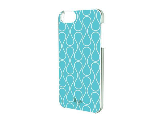 iLuv Festival L Blue Chic Hardshell Case For iPhone 5 ICA7H307BLU