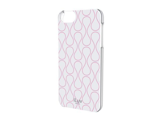 iLuv Festival L White Chic Hardshell Case For iPhone 5 ICA7H307WHT