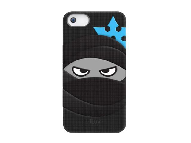 iLuv Black Mummy & Ninja Silicone Character Case For iPhone 5 ICA7T326BLK