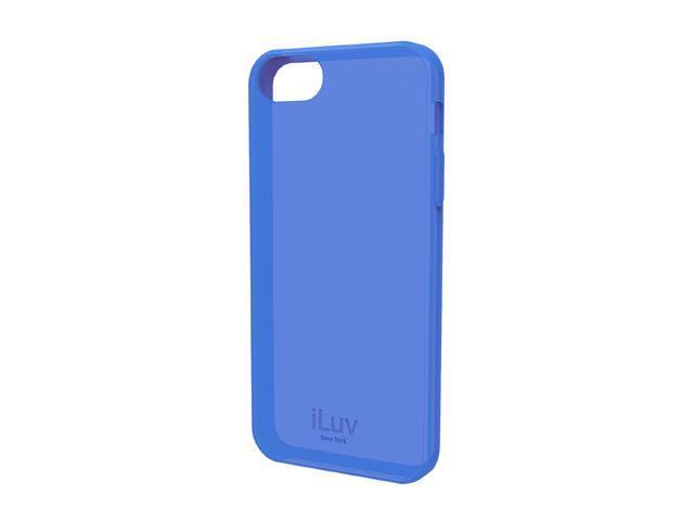 iLuv Gelato L Blue Soft Flexible Case For iPhone 5 ICA7T306BLU