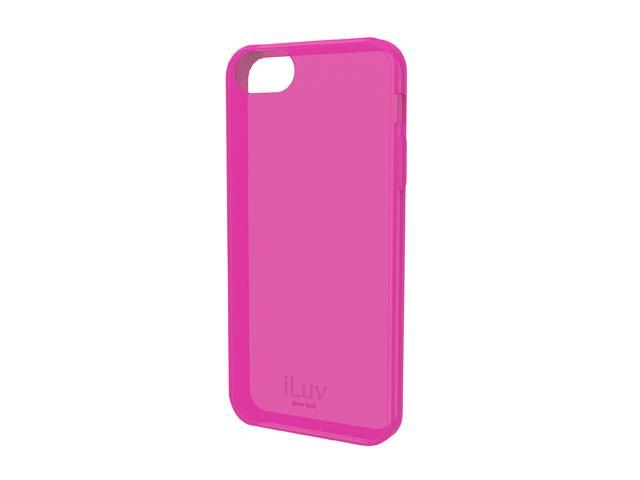 iLuv Gelato L Pink Soft Flexible Case For iPhone 5 ICA7T306PNK