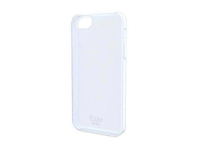 iLuv Gelato White Soft, Flexible Case for iPhone 5 / 5s ICA7T306WHT