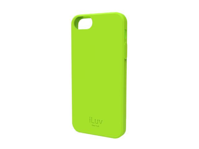 iLuv Gelato L Green Soft Flexible Case For iPhone 5 ICA7T306GRN